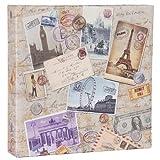 HENZO Einsteck Fotoalbum City Travel - für 200 Bilder 10x15 cm - Bilderalbum - Einsteckalbum - Album - Urlaubsalbum