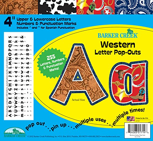 ffice Products 10,2cm Poster Buchstaben und Bulletin Board Buchstabe pop-outs, 255-characters (ll-1714) (Buchstaben Für Bulletin Boards)