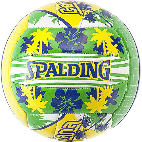 Spalding Ball Beachvolley Copacabana 72-320Z - Balón de voleibol para exterior, color multicolor, talla 5