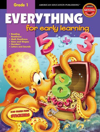 Everything for Early Learning, Grade 1 [With Stickers]