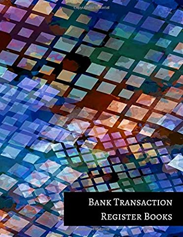 Bank Transaction Register Books