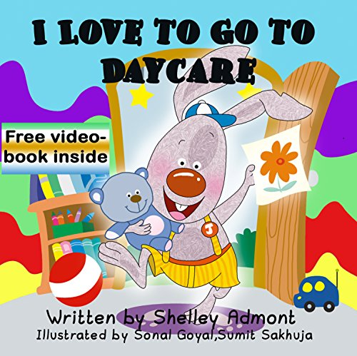 I Love to Go to Daycare (I Love to...Bedtime stories children's books collection Book 4) (English Edition)