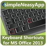 Keyboard Shortcuts for MS Office 2013 - simpleNeasyApp by WAGmob