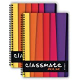 Classmate Soft Cover 6 Subject Spiral Binding Notebook, Single Line, 300 Pages (2105013)