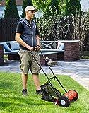Einhell Hand Rasenmäher GC-HM 30 (30 cm Schnittbreite, max. 42 mm Schnitthöhe, 16 l Fangkorb, empfohlen bis 150 m²) - 7