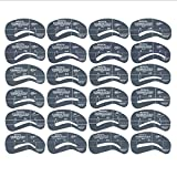 Augenbrauen Schablone - Kontur Kit / 24 Stück im Set - Augenbrauenschablone - MakeUp Hilfe / Augenbraue Vorlage