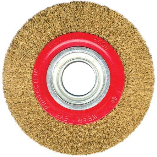 Silverline 427733 - Rueda de acero latonado (125 mm)