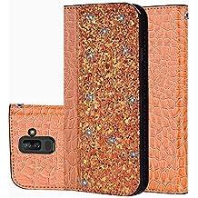 für Smartphone Samsung Galaxy A6 Plus 2018 Hülle, Leder Tasche für Samsung Galaxy A6 Plus 2018 (6.0 Zoll) Flip Cover Handyhülle Bookstyle mit Magnet Kartenfächer Standfunktion