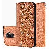 für Smartphone Samsung Galaxy A6 Plus 2018 Hülle, Leder Tasche für Samsung Galaxy A6 Plus 2018 (6.0 Zoll) Flip Cover Handyhülle Bookstyle mit Magnet Kartenfächer Standfunktion (1)