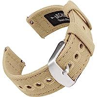 Archer Watch Straps - Bracelet de Montre en Toile pour Homme et Femme - Bracelet de Rechange Canvas - Couleurs Multiples…