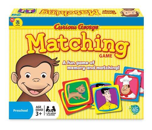 Curious George - Coco der Affe - Matching Game - Memory Karten Spiel - aus USA - Karte-spiel Affe