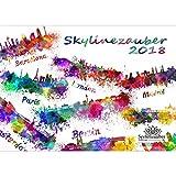 Premium Kalender 2018 · DIN A3 · Skylinezauber Europa · Skyline · Städte · Stadt · City · Edition Seelenzauber