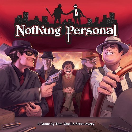 Game Salute Nothing Personal Board Game by Game Salute