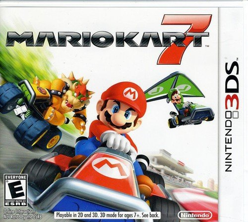MARIO KART 7 / NUR DAS MODUL / Spiel IN DEUTSCH Multi-Sprachen (kompatibel ALLES Nintendo 3DS/2DS Konsolen) ** Lieferung 2/3 Werktage + Tracking Nummer **