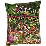 Jake - Frutti-Pops - Caramelos duros con palo - 200 unidades