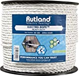 Rutland 30-120R Elektroseil, 200 m, weiß