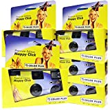 5 x Thé Appareils Photo HC/jaune (27 photos, avec flash (5-pack)