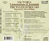 Tomás Luis de Victoria : Lamentations de Jérémie. Scholars.