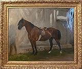 Das Museum Outlet–klavierpädagoge de cheval (Bidet) Gerome–Poster Print Online kaufen (101,6x 127cm)