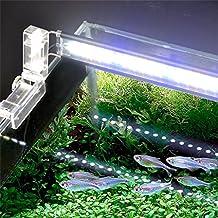 TRRE- plantas de acuario accesorio fluorescente LED faro luces del acuario faro alto brillo luces a prueba de agua ( Tamaño : 18 cm )