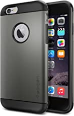 Spigen Slim Armor Case for iPhone 6 / 6S - Gunmetal SGP10959