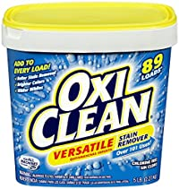 Arm Hammer 5703751650 Oxiclean Versatile Stain Remover 5 Lbs Pack Of 4