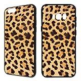 Handyhülle Tiermuster iPhone Silikon Leopard Zebra Schlange Feder Fell Pfau, Handymodell:Apple iPhone 5 / 5S / SE, Hüllendesign:Design 2 | Silikon Schwarz