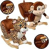 Stimo24 Baby Animal Rocker Rocking Toy JUNGLE