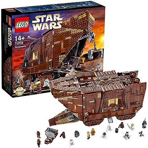 LEGO Star Wars Sandcrawler 3296pieza(s) - juegos de construcción (Película, Niño/niña, Marrón, Star Wars)