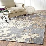 flashing- Haushaltsraum Wohnzimmer Flur Teppich Sofa schönen dicken handgemachten Blumengarten ( größe : 2000MM*2000MM )
