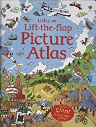 Lift the Flap Atlas by Frith Alex