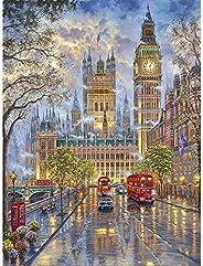Gooder 5D Diamond Painting Set London Street Cross Stitch Rhinestone Decoration Round Drill Diamond Art Painti