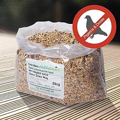Garden Wildlife Direct 25Kg No Wheat Wild Bird Seed Mix by Garden Wildlife Direct