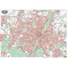 München, Stadtplan 1:22.500, Poster, Plano in Rolle, freytag & berndt Poster + Markiertafeln