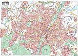 München, Stadtplan 1:22.500, Poster, Plano in Rolle, freytag & berndt Poster + Markiertafeln - Freytag-Berndt und Artaria KG