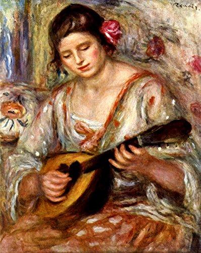 Das Museum Outlet–Mädchen mit Mandoline von Renoir–Poster Print Online kaufen (152,4x 203,2cm)