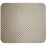 BKN ® Premium Universal Non-Slip PVC Rubber Gel pad Passenger Car Dashboard Mat (Beige Plain Matt)