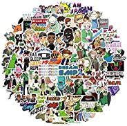 100 Pcs Dream SMP Stickers Packs Skateboard Stickers, Variety Pack for Laptop Guitar Travel Case Water Bottle