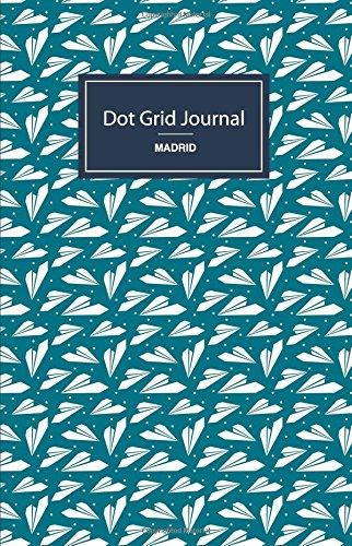 Cuaderno de malla de puntos - Aviones: Tapa blanda, 14x21cm, 130 páginas: Volume 4 (Madrid)