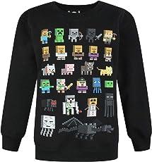 Minecraft Jungen Pullover