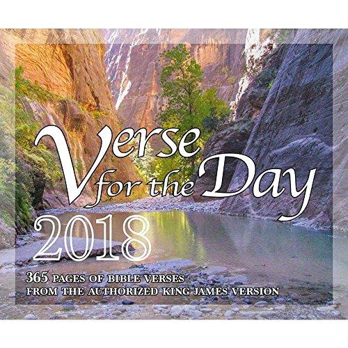 365 Bibelvers für den Tag - Alle KJV Schrift Verse 2018 Kalender
