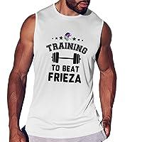 Dragon Ball Z Training to Beat Frieza Men's Smooth Sports Vest