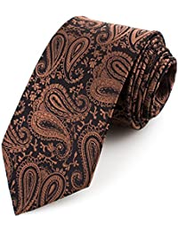 RAY±JAY Casual Business Krawatte Hochzeit 8cm x 150cm Paisley Muster viele Designs