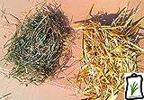 Frisches natur Heu und Stroh für Krippe Weihnachtskrippe Deko Basteln Modellbau je60g