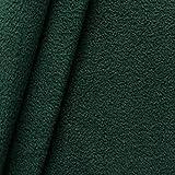 Fleece Stoff antipilling Meterware Tannen-Grün