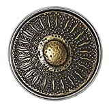 Noosa Chunk Korean Sunflower brass-brass