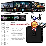 MXQ Pro Amlogic S905 2016 Quad Core Android 5.1 Smart TV box, mini PC, streaming media player con Kodi XBMC, 1Gb LAN, ram 1GB, rom 8GB (2016 MXQ Pro)