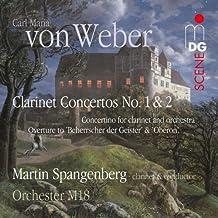 Concertos pour clarinette N°1 et 2, Concertino pour clarinette