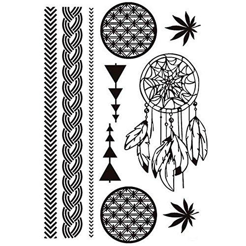 feuilles noir tatouages. Black Bedroom Furniture Sets. Home Design Ideas