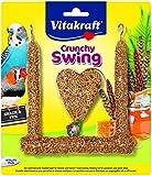 Vitakraft Crunchy Swing, Futterschaukel für Sittiche und Exoten, 4er Pack
